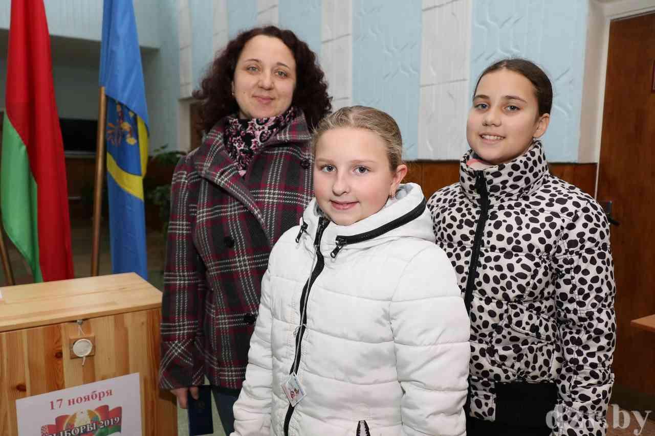 Как проходят выборы на Петковичском участке для голосования №20