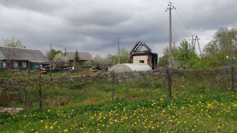 Сжёг дом из-за лающей собаки. Выяснены причины пожара в деревне Дзержинского района