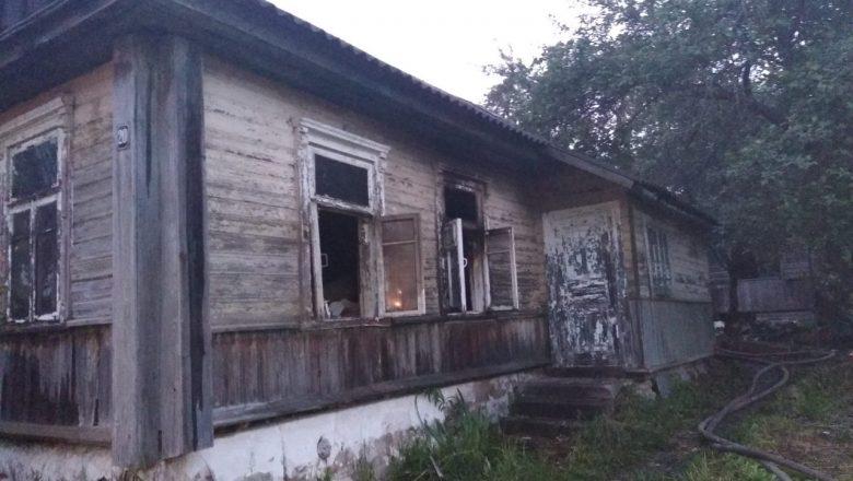На пожаре в Дзержинске погибли двое мужчин