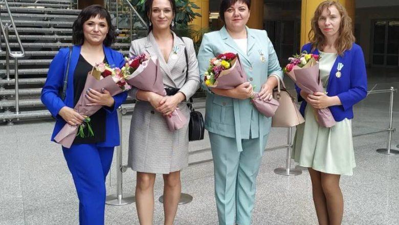 Орденоносные мамы Дзержинщины поделились впечатлениями о награде