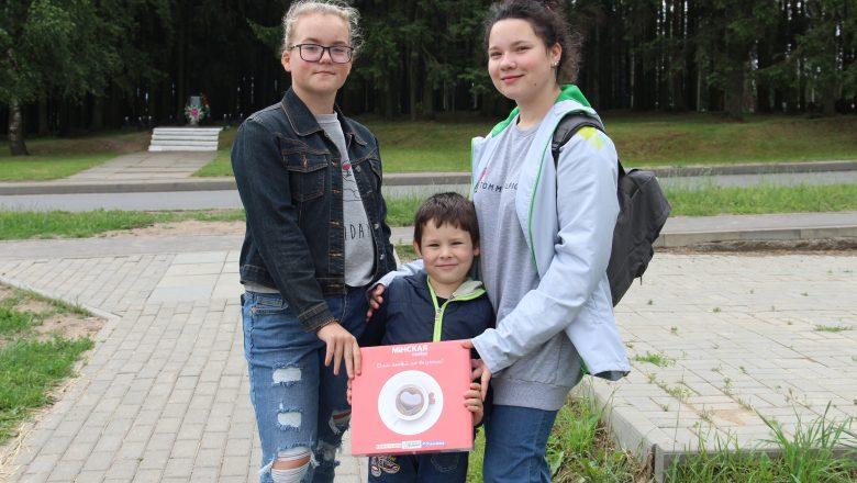 В Дзержинском районе прошла акция в честь Всемирного дня шоколада