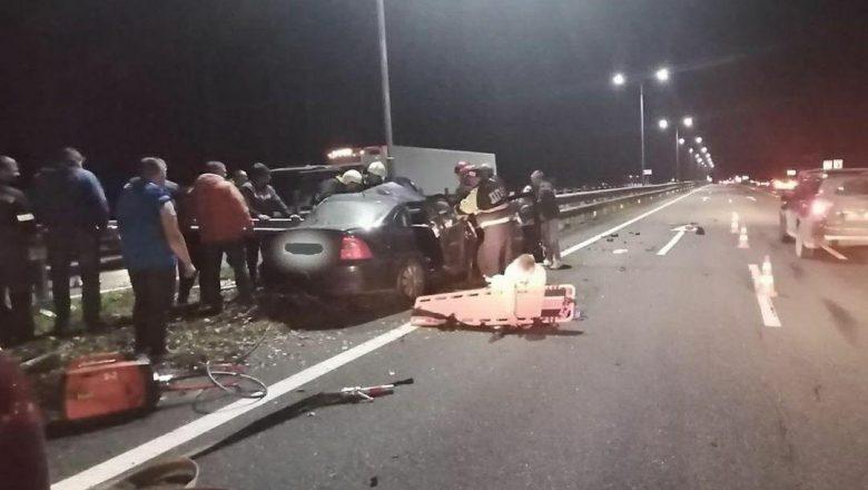 Страшное ДТП под Дзержинском: водитель погиб