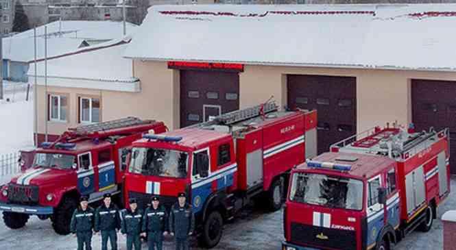 19 января – День спасателя. Будни работников Дзержинского РОЧС
