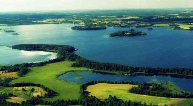 Минщина удивительная: Мядель — край озер