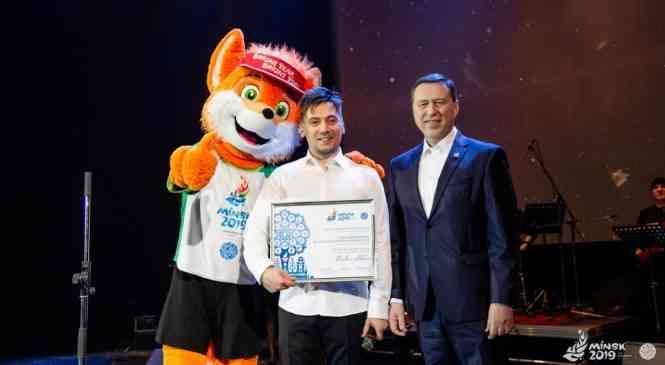 Певец и композитор Руслан Алехно – звездный посол II  Европейских игр