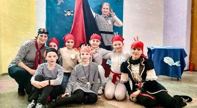 Пиратское квест-путешествие в Фанипольском ГДК