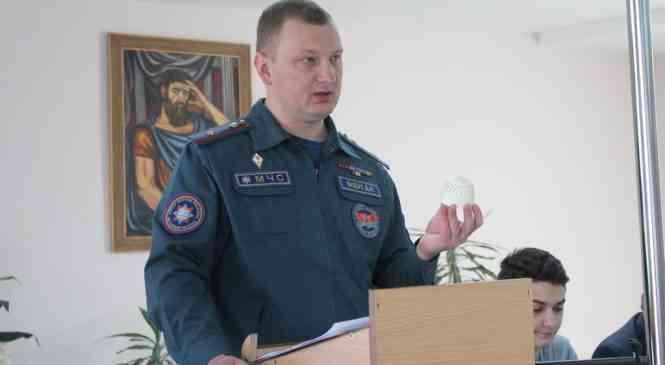 Спасатели заглянули в Дзержинскую ЦРБ