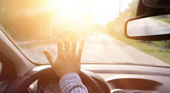 Солнце – коварный спутник автомобилистов