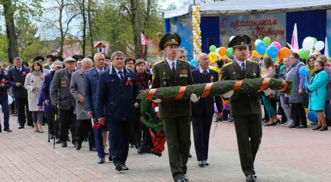 Торжественный митинг, посвященный Дню Победы, прошел в Дзержинске