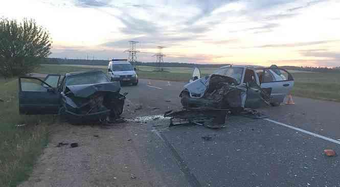 На автодороге к Волме призошло ДТП со смертельным исходом