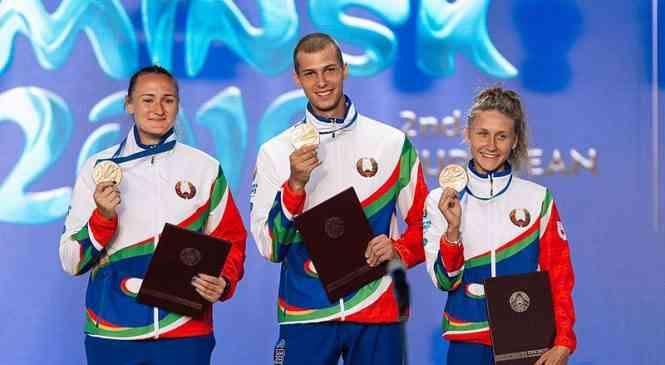 Яркая церемония награждения медалистов Евроигр по легкой атлетике