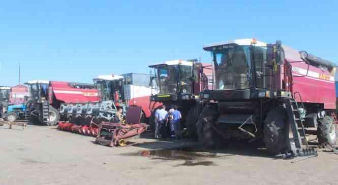 Какая техника будет задействована на уборке зерновых культур