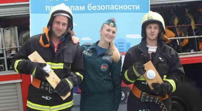«Первых спасателей в деревне» наградили в Крыштафово