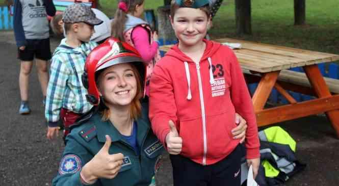 Один день из жизни юных туристов Дзержинского района