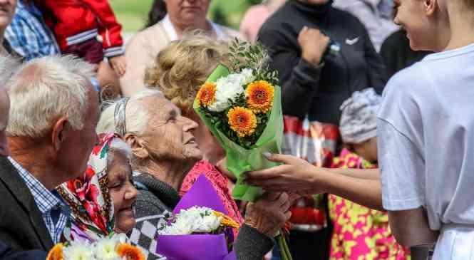 Торжественно и ярко Фаниполь отметил День Независимости