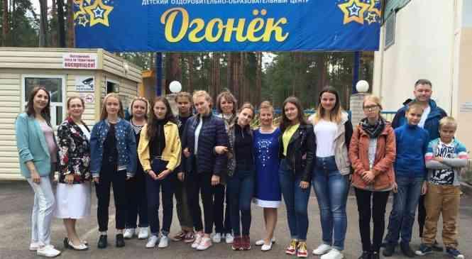 Дзержинские гимназисты отдохнули в Тихвине