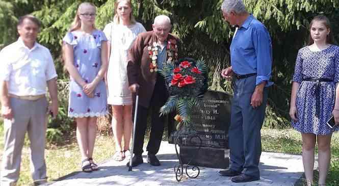 На мемориальном комплексе «Литавец» прошла акция«Беларусь помнит»