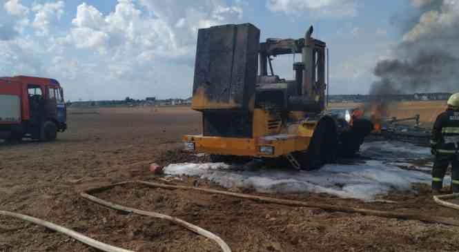 Сгоревший в поле трактор, или Почему аграрии несут убытки от пожаров