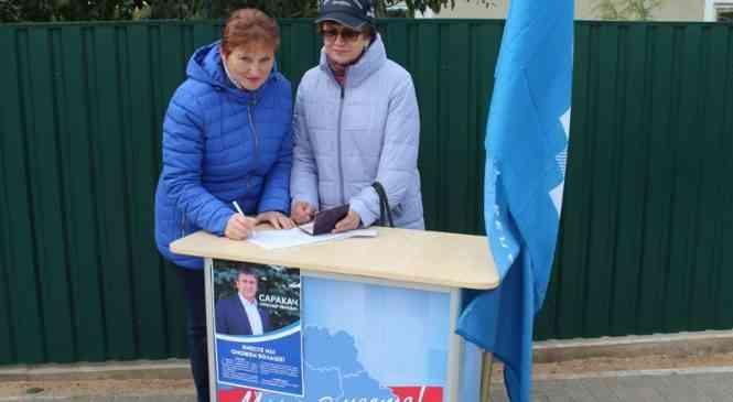 В Дзержинске прошли очередные пикеты в поддержку претендентов в кандидаты в депутаты Палаты представителей
