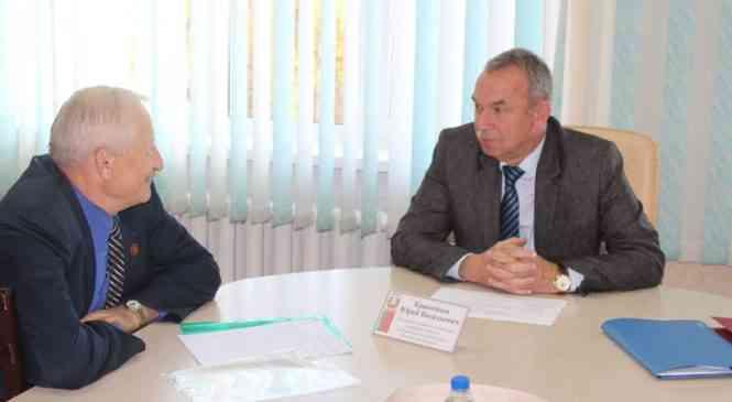 Начальник главного управления кадровой политики Администрации Президента провел прием граждан в Дзержинске