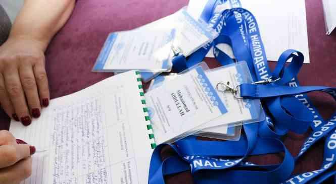 Избирательные участки №1 и №2 в гимназии г. Дзержинска посетили наблюдатели от ШОС