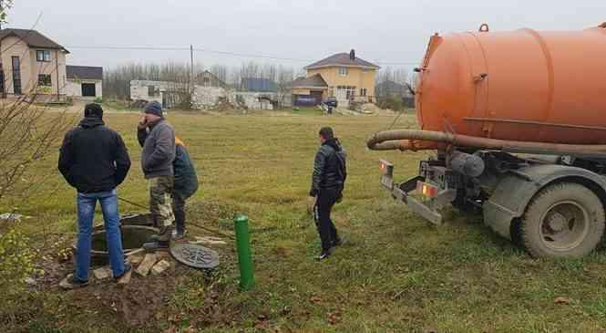 В г. Дзержинске на ул. Островского  произошел прорыв водопровода