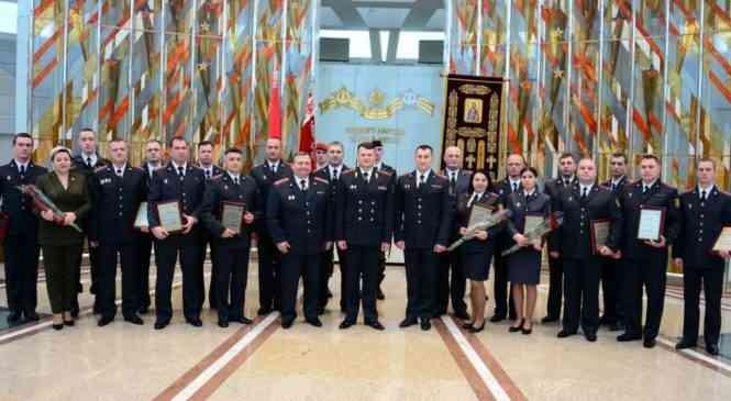 В Минской области названы лучшие сотрудники милиции