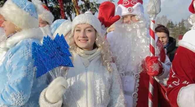 Лучшего Деда Мороза области выбрали в Станьково в рамках акции «Родители-победители и призеры и их дети»