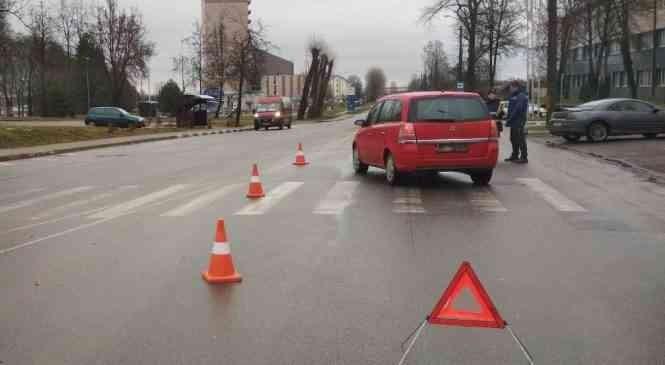 В Дзержинске на ул. Фоминых 25 января произошел второй за день наезд на пешехода. Видео ДТП