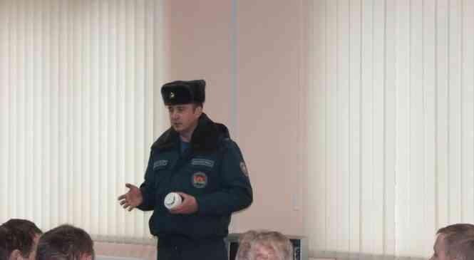 Начальник Дзержинского РОЧС встретился с работниками ООО «Завод-Евромаш»