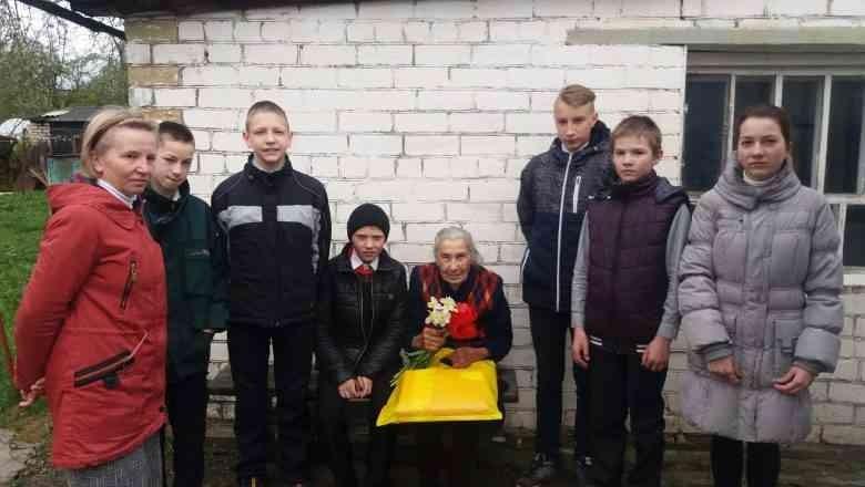 95-гадовы юбілей адзначае Ніна Цюхай з вёскі Вялікія Навасёлкі