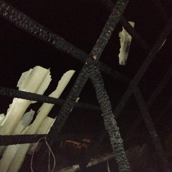 Пожар в деревне Клыповщина. Есть пострадавшие