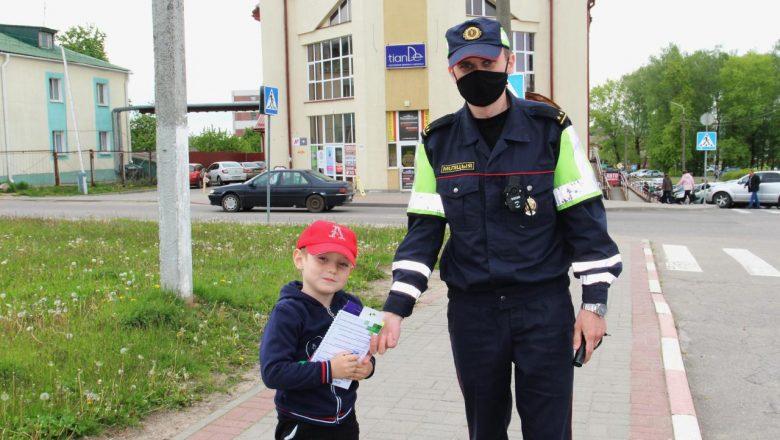 ОГАИ Дзержинского РОВД провели мероприятие «Дети-пассажиры»